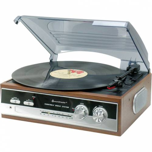 Soundmaster PL186H Plattenspieler