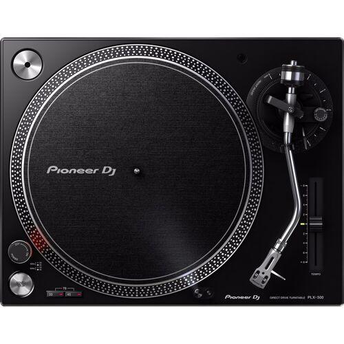 Pioneer PLX-500 Schwarz DJ-Plattenspieler