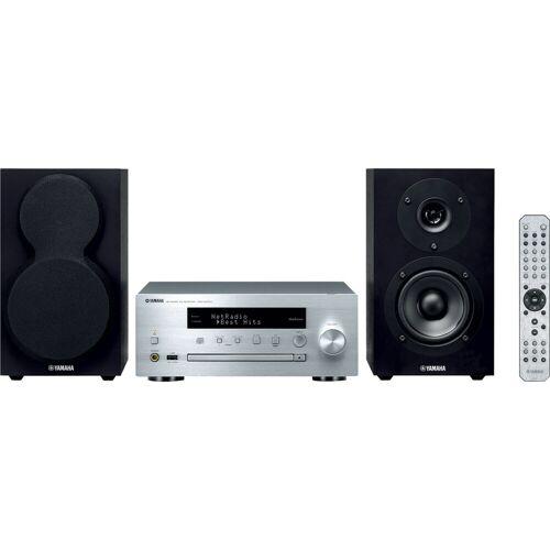 Yamaha MCR-N470 DAB+ Schwarz/Silber Stereoanlage