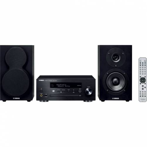 Yamaha MCR-N470 DAB+ Schwarz/Schwarz Stereoanlage