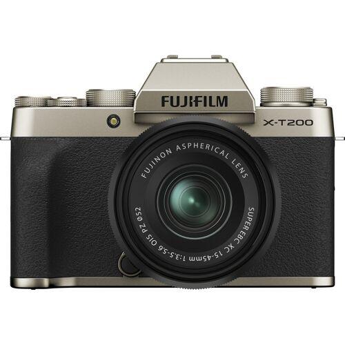 Fujifilm X-T200 Gold + XC 15-45 mm f/3.5-5.6 OIS PZ Systemkamera
