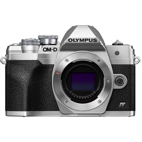 Olympus OM-D E-M10 Mark IV Body Silber Systemkamera
