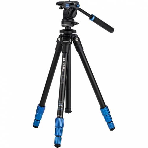 Benro TSL08AS2CSH Slim Video Stativ-Kit Stativ