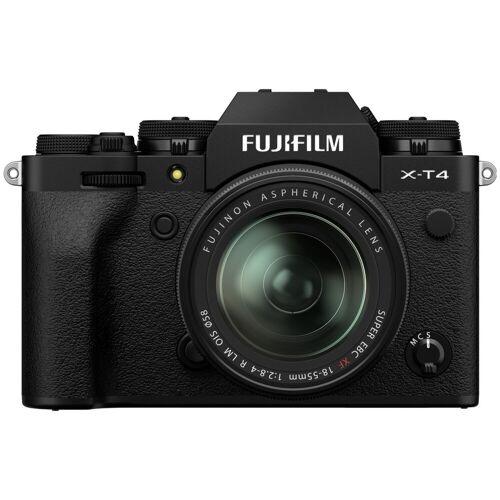 Fujifilm X-T4 Schwarz + XF 18-55 mm f/2.8-4.0 R LM OIS Systemkamera