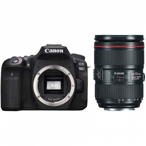 Canon EOS 90D + EF 24-105mm f/4L IS II USM Spiegelreflexkamera