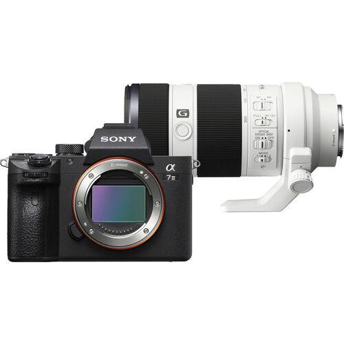 Sony A7 III + FE 70-200 mm f/4 OSS Systemkamera