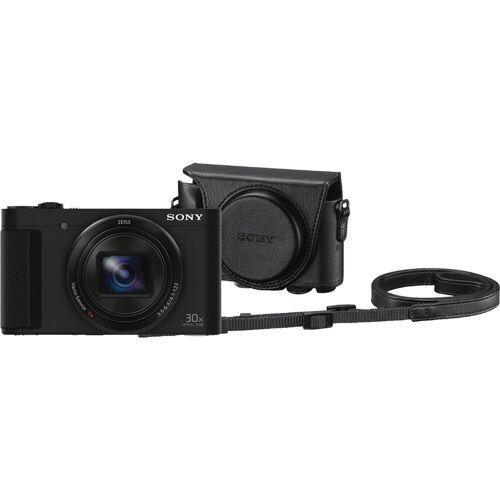 Sony CyberShot DSC-HX90 + LCJ-HWA Kamerahülle Kompaktkamera