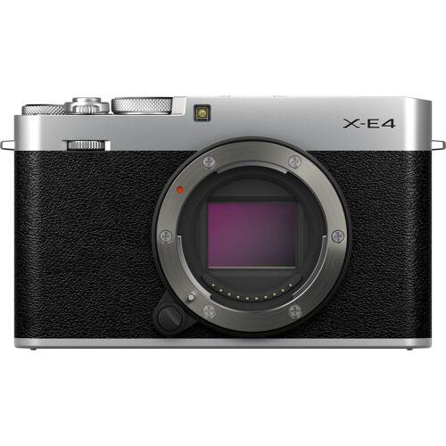 Fujifilm X-E4 Silber + MHG-XE4 + TR-XE4 Systemkamera