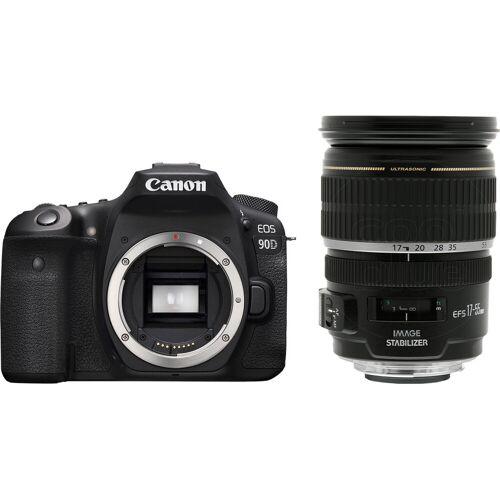 Canon EOS 90D + EF-S 17-55 mm f/2.8 IS USM Spiegelreflexkamera
