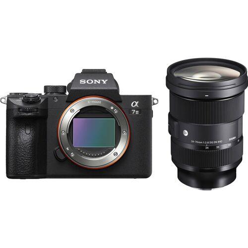 Sony A7 III + Sigma 24-70 mm f/2.8 Systemkamera