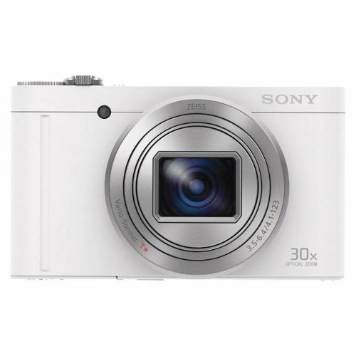 Sony CyberShot DSC-WX500 Weiß Kompaktkamera