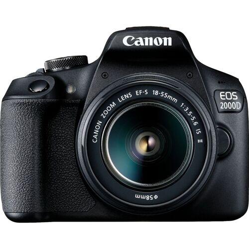 Canon EOS 2000D + 18-55mm IS II Spiegelreflexkamera