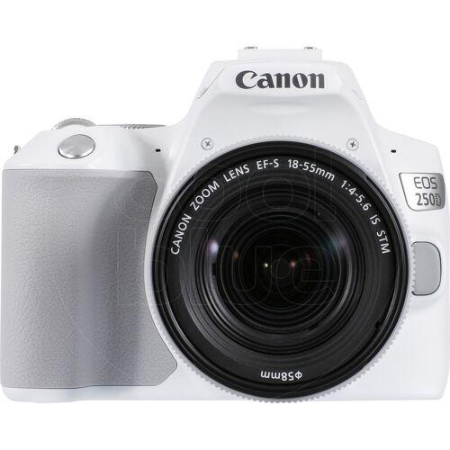 Canon EOS 250D Weiß + 18-55mm f/4-5.6 IS STM Spiegelreflexkamera
