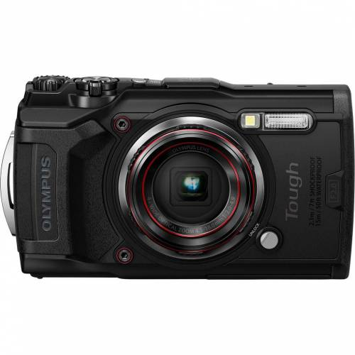 Olympus Tough TG-6 Schwarz Kompaktkamera