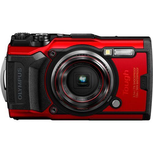 Olympus Tough TG-6 Rot Kompaktkamera