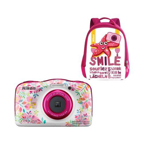 Nikon Coolpix W150 Rucksack-Set Blume Kompaktkamera