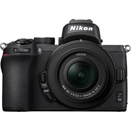 Nikon Z50 + 16¿50 mm f/3.5¿6.3 VR + FTZ Adapter Kit Systemkamera