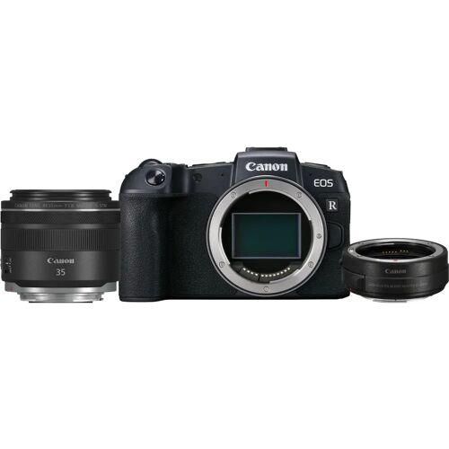 Canon EOS RP + Adapter + 35 mm f/1.8 IS STM Makro Systemkamera