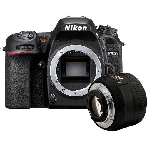 Nikon D7500 + Nikon AF-S 35mm f/1.8G DX Spiegelreflexkamera