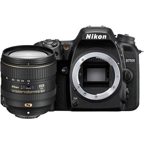 Nikon D7500 + Nikon AF-S 16-80mm f/2.8-4 ED VR Spiegelreflexkamera