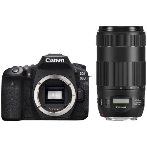 Canon EOS 90D + EF 70-300mm f/4-5.6 IS II USM Spiegelreflexkamera