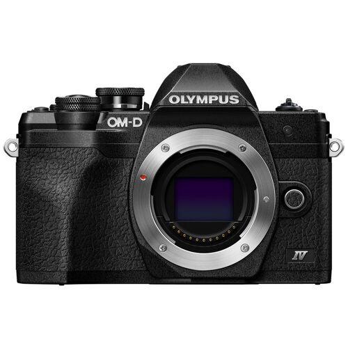 Olympus OM-D E-M10 Mark IV Body Schwarz Systemkamera