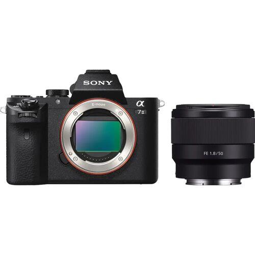 Sony A7 II + FE 50 mm f/1.8 Systemkamera