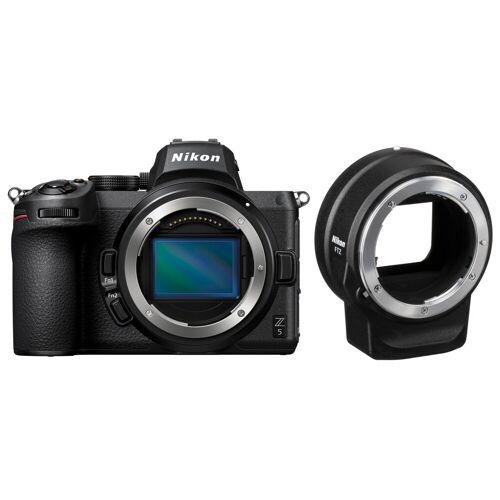 Nikon Z5 Body + FTZ Adapter Systemkamera