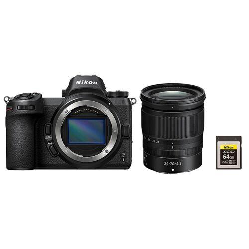 Nikon Z6 + Nikkor Z 24-70 mm f/4 S + 64 GB XQD Speicherkarte