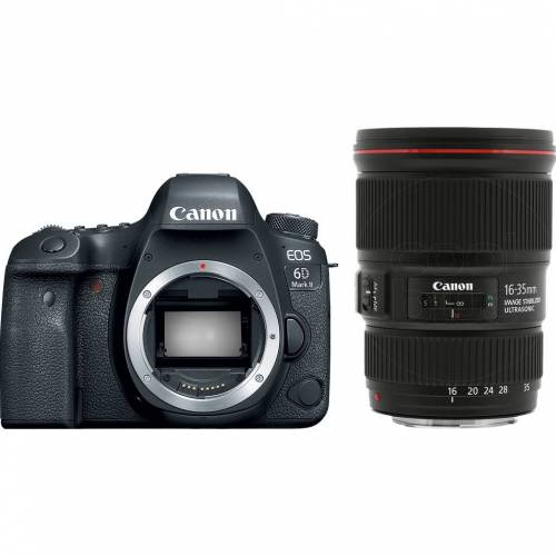 Canon EOS 6D Mark II + EF 16¿35 mm f/4L IS USM Spiegelreflexkamera