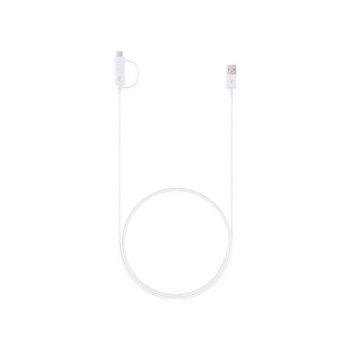 Samsung 2-in-1 USB-C/Micro-USB-Kabel 1,5 m Weiß Datenkabel
