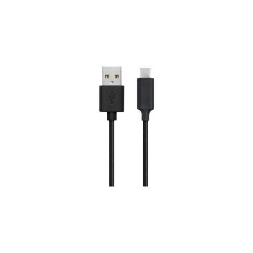 Xqisit USB-C-Kabel 1 m Schwarz Datenkabel
