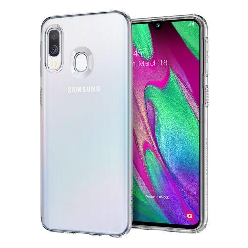 Spigen Flüssigkristall Samsung Galaxy A40 Rückseite transparent
