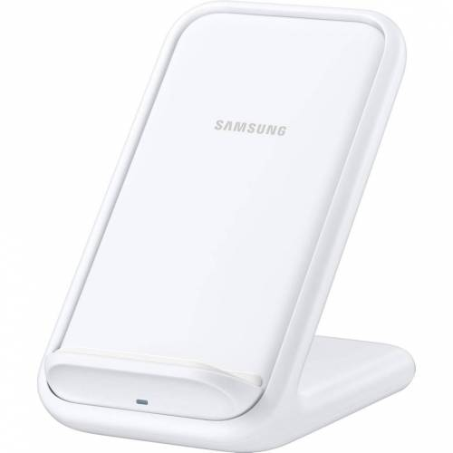 Samsung Wireless Charger Stand 15 W in Weiß Kabelloses Ladegerät