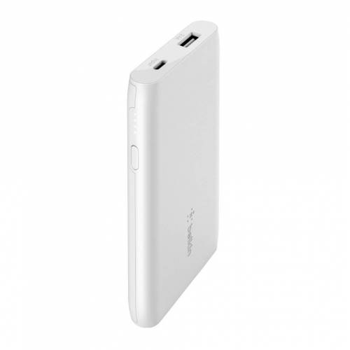 Belkin Boost Charge Powerbank 5.000 mAh Weiß Powerbank