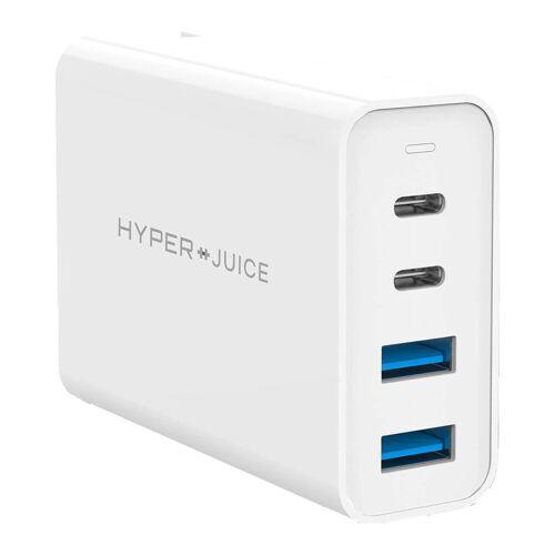 Hyper Ladegerät mit 4 USB-Anschlüssen 100W Ladegerät für Laptops