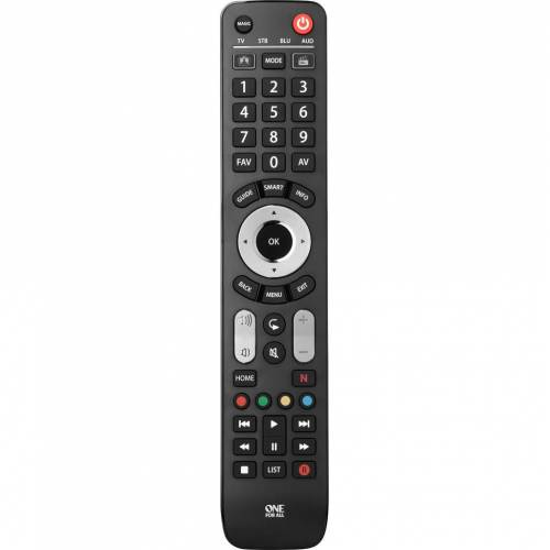 One For All URC7145 - Universal-Fernbedienung Fernseher-Fernbedienung