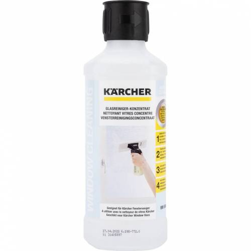Karcher Kärcher-Reinigungsmittel 500 ml Reinigungsmittel für Dampfreiniger