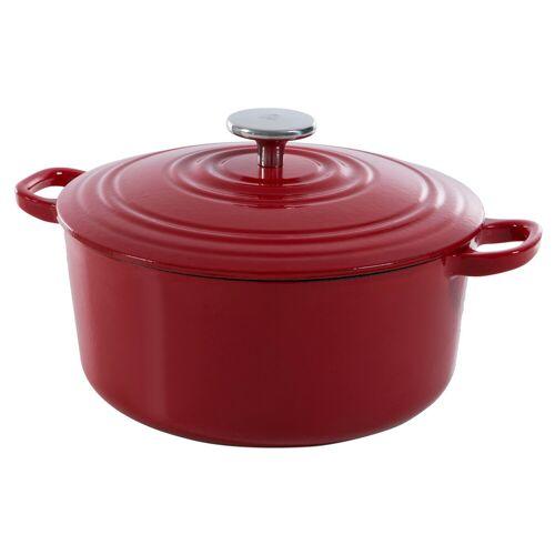 BK Bourgogne Dutch Oven 28 cm Chili Red Topf