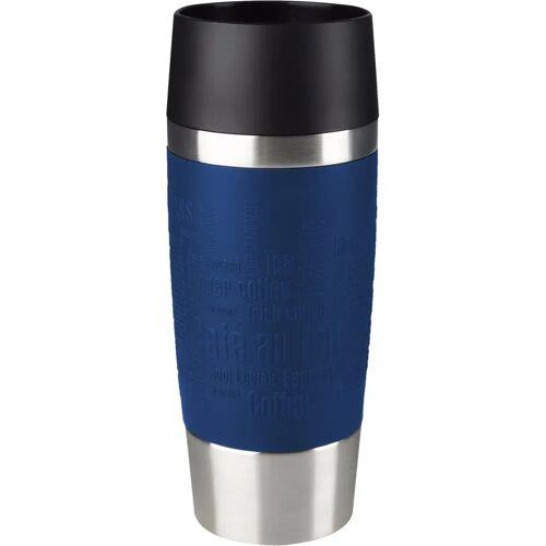 Tefal Travel Mug 0,36 Liter Edelstahl/Blau Thermoskanne