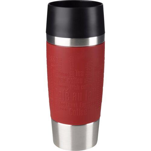 Tefal Travel Mug 0,36 Liter Edelstahl/Rot Thermoskanne