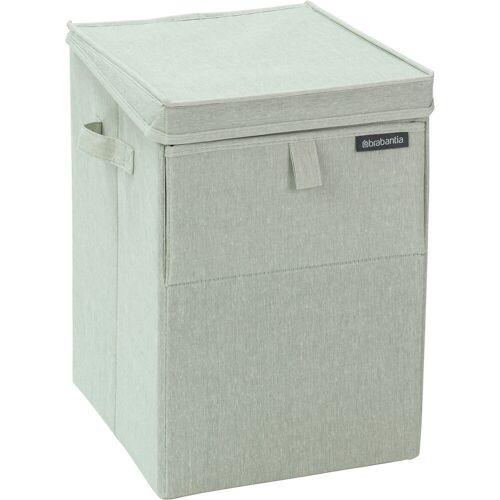 Brabantia stapelbare Wäschebox 35 Liter - grün Wäschekorb
