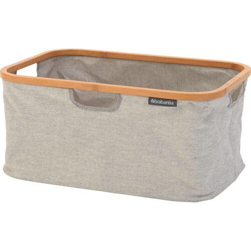 Brabantia einklappbarer 40-Liter-Wäschekorb - Grau Wäschekorb