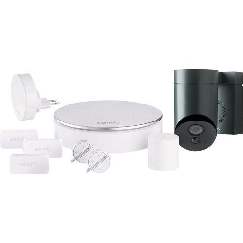 Somfy Protect Home Alarm + Outdoor Camera Grau Alarmanlage