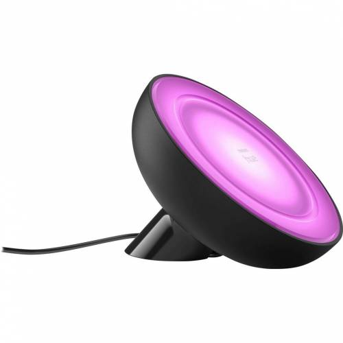 Philips Hue Bloom Tischlampe White & Color Schwarz Smart-Home-Lampe