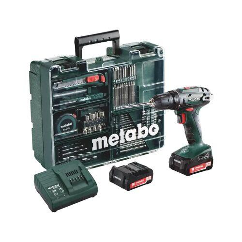 Metabo BS 14,4 Set bohren