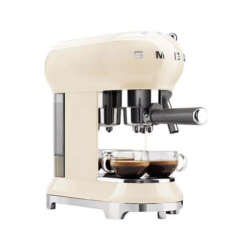 SMEG ECF01CREU Creme halbautomatische Espressomaschine
