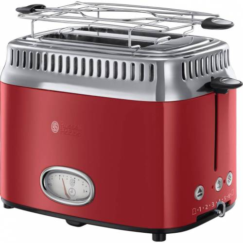 Russell Hobbs Retro Ribbon Red Toaster Toaster