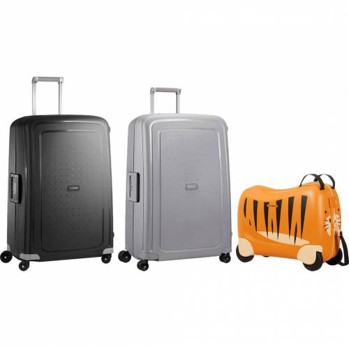 Samsonite S'Cure 75 cm + 75 cm + Kinderkoffer Kofferset Koffer