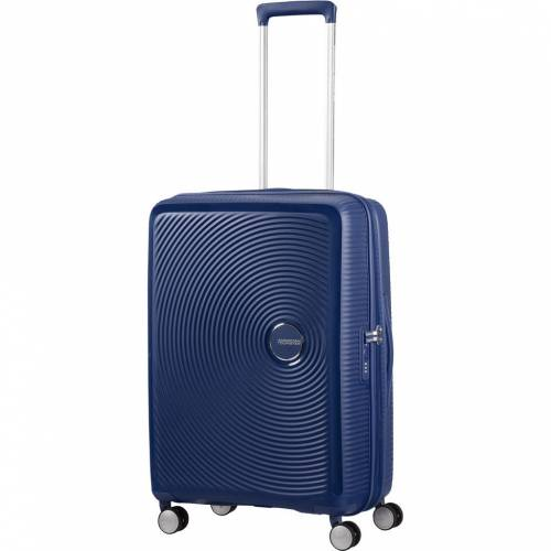 American Tourister Soundbox Erweiterbarer Spinner 67 cm Midnight Navy